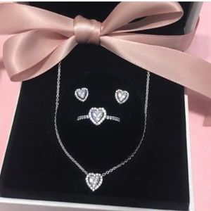Pandora elevated heart gift set